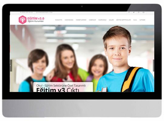 Eğitim - Okul Web Sitesi