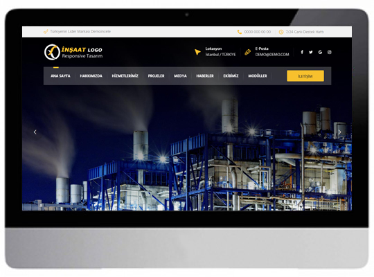 İnşaat Web Sitesi