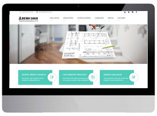 Yapı Denetim Web Sitesi