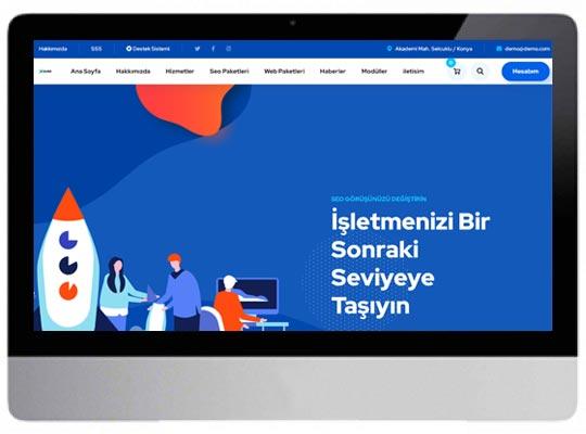 Ajans E-ticaret Web Sitesi