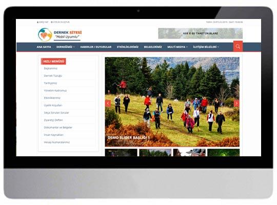 Belediye / Dernek Web Sitesi