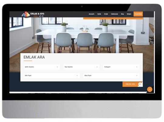 Emlak Web Sitesi