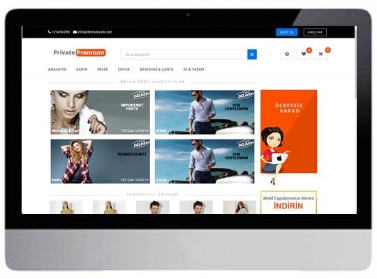 Giyim E-ticaret Web Sitesi