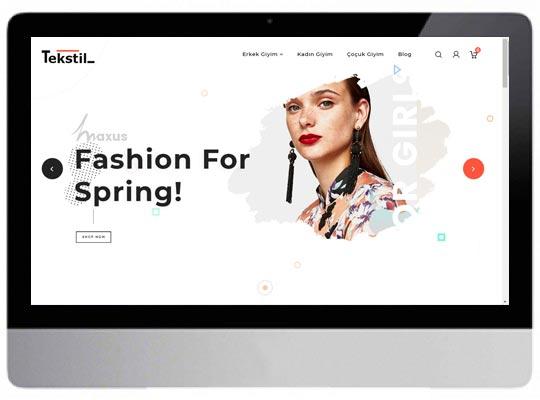 E-ticaret Web Sitesi
