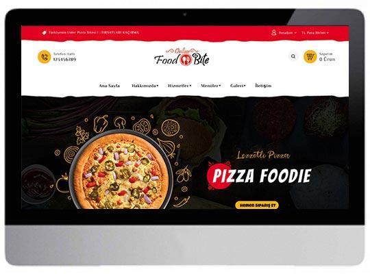 Fast Food E-ticaret Web Sitesi