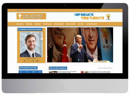 AKP - Parti Aday Web Sitesi