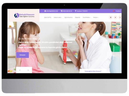 Özel Eğitim Rehabilitasyon Web Sitesi