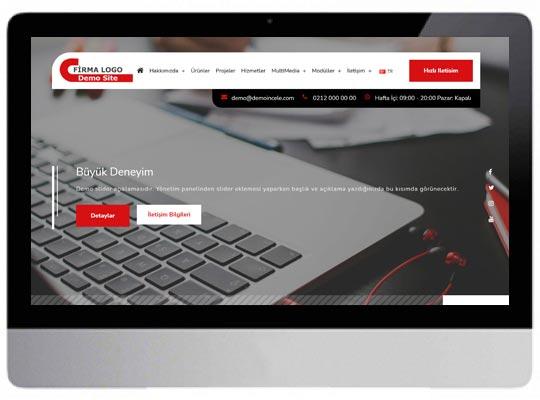 Kurumsal Danışmanlık Web Sitesi