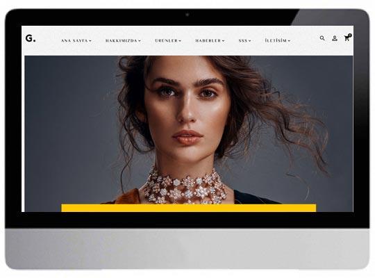 Kuyumcu E-ticaret Web Sitesi