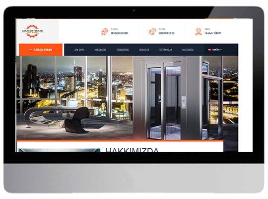Asansör Web Sitesi