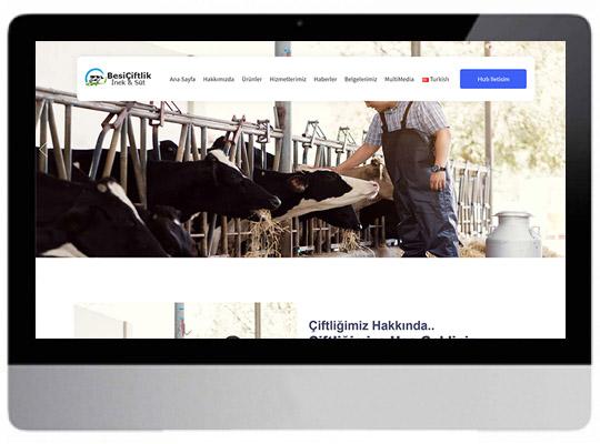 Çiftçilik - Besicilik Web Sitesi