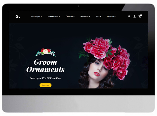 Çiçekçi Web Sitesi