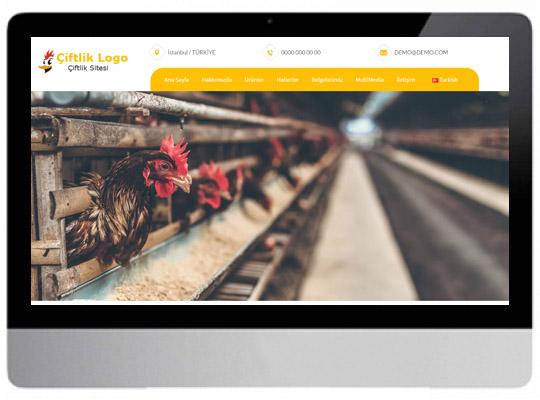 Çiftçilik - Hayvancılık Web Sitesi
