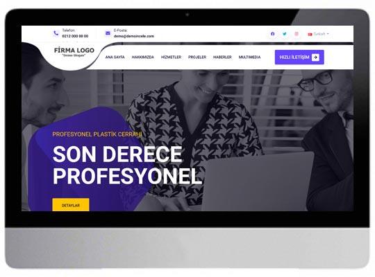 Danışmanlık ve Organizasyon Web Sitesi