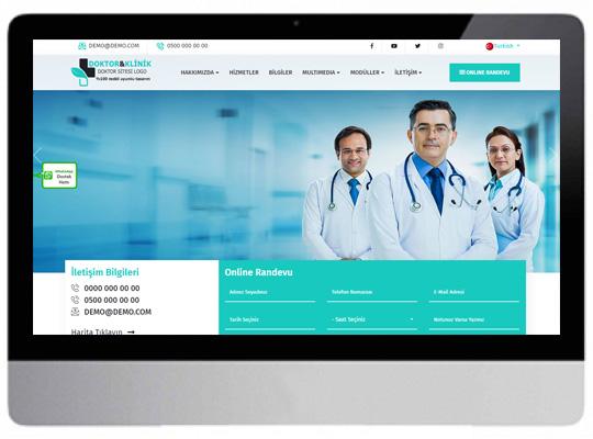Doktor / Klinik  Web Sitesi