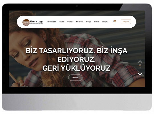 Kurumsal E-ticaret Web Sitesi