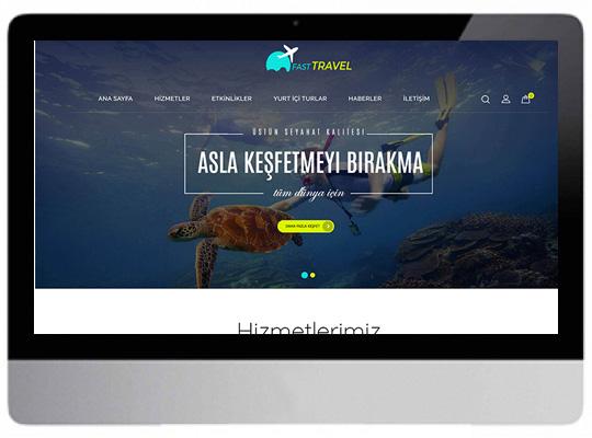 Gezi & Tur Rehber Paketi Web Sitesi