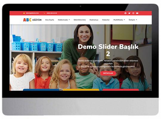 Kreş - Anaokul Web Sitesi