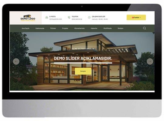 Kurumsal Prefabrik Web Sitesi
