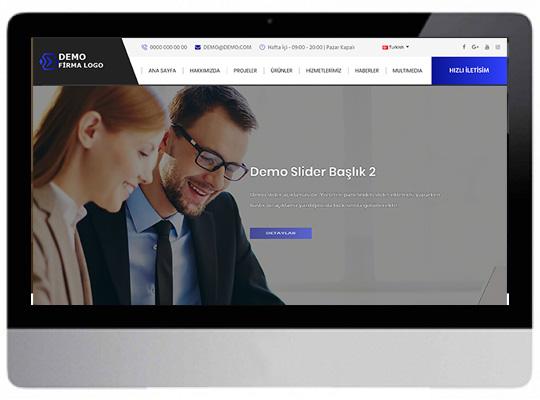 Kurumsal Firmalar Web Sitesi