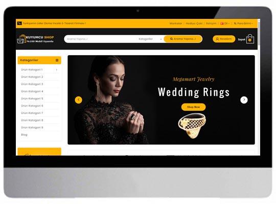 Takı kuyumcu E-ticaret Web Sitesi
