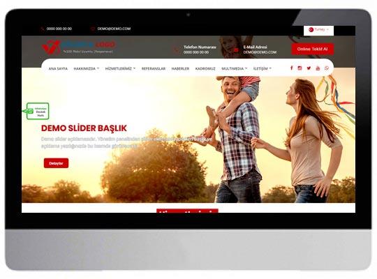 Sigortacı Web Sitesi
