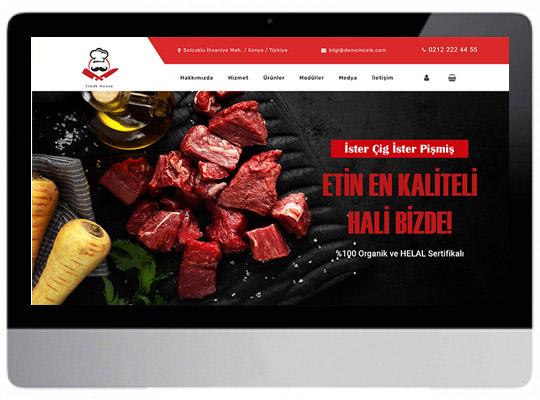 Steak / Kasap Hazır Web Sitesi