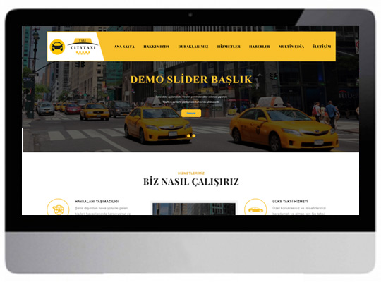 Taksici Web Sitesi