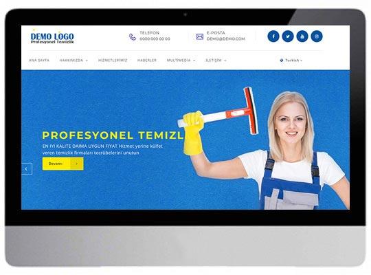 Temizlik Şirketi Web Sitesi
