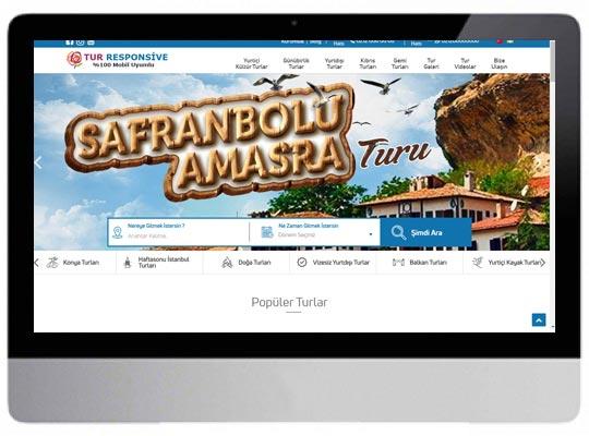 Tur - Seyahat Web Sitesi